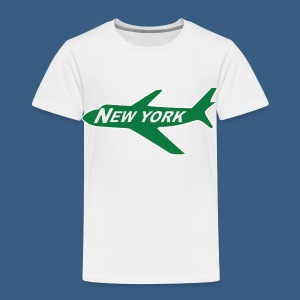 NY Jet - Toddler Premium T-Shirt