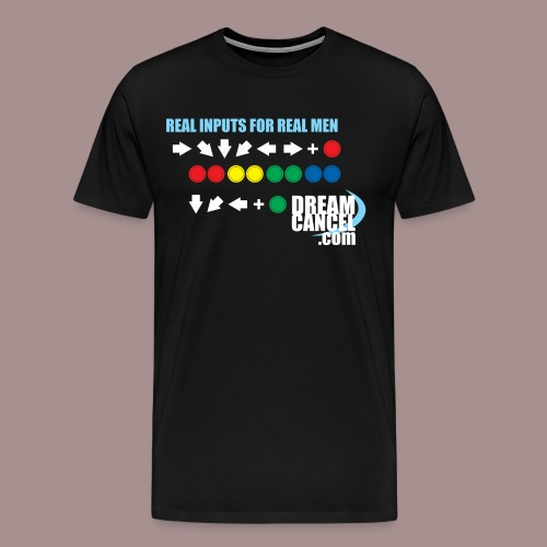 Vintage Real Inputs (3X) - Men's Premium T-Shirt
