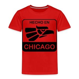 Hecho En Chicago Dark - Toddler Premium T-Shirt