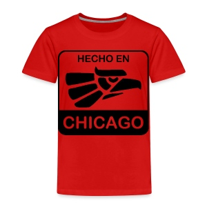 Hecho En Chicago Dark - Toddler Premium T-Shirt