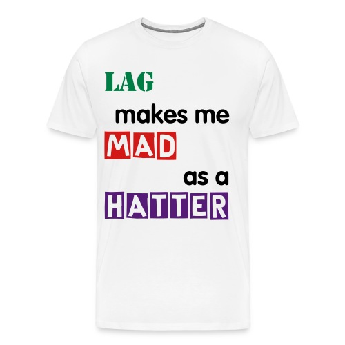 Mad as a Hatter - Men's Premium T-Shirt