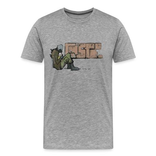 Combine Graffiti - Men's Premium T-Shirt