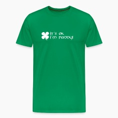 it´s ok i´m paddy T-Shirts