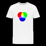 T-Shirts ~ Men's Premium T-Shirt ~ RGB (White)