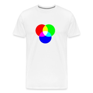 RGB (White) - Men's Premium T-Shirt