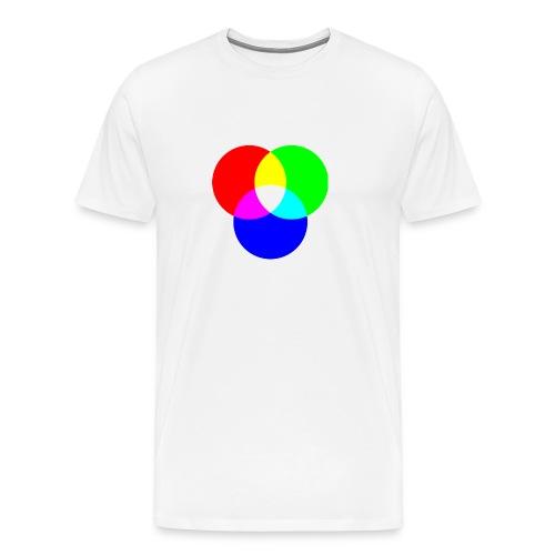 RGB (White) - Men's Premium T-Shirt