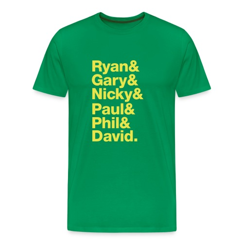 The Class of '92 (Green & Gold) - Men's Premium T-Shirt