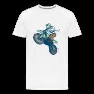 T-Shirts ~ Men's Premium T-Shirt ~ Dr. Dirtbike Classic