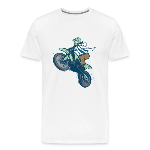 Dr. Dirtbike Classic - Men's Premium T-Shirt