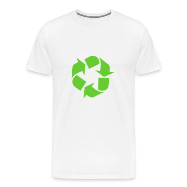Global warming recycle symbol