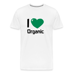 I love Organic - Men's Premium T-Shirt