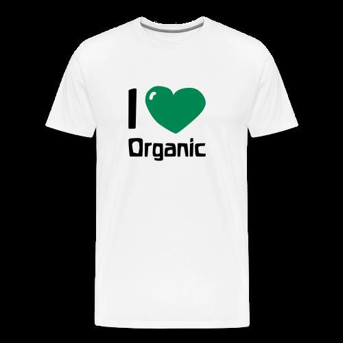 I love Organic - Men's Premium T-Shirt