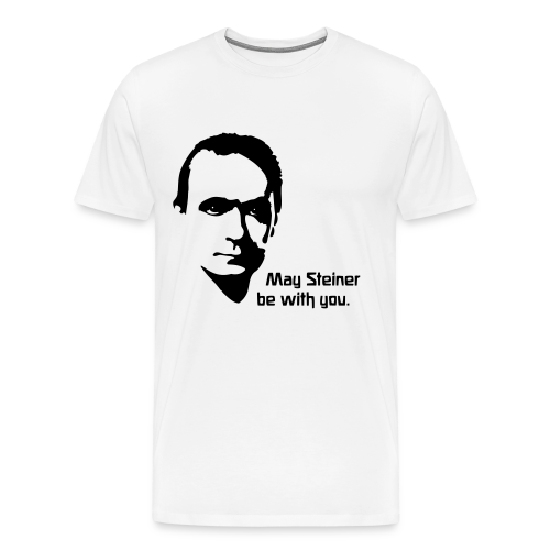 May Steiner be with you - Men's Premium T-Shirt
