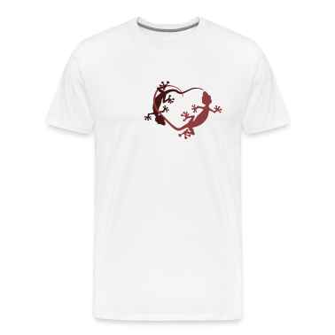 Gecko heart T-Shirts