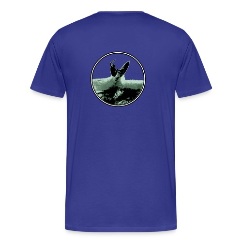 surf shred logoform - Men's Premium T-Shirt