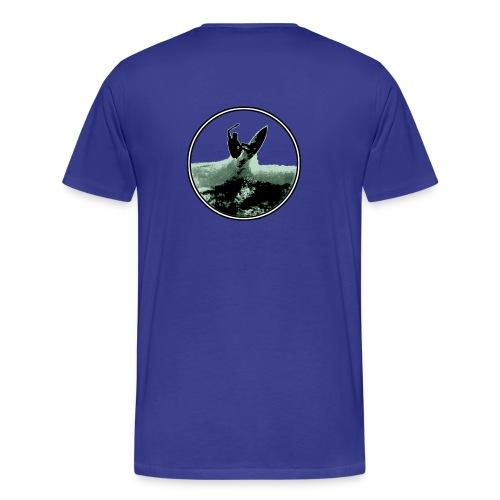 surf shred logoform - Men's Premium T-Shirt