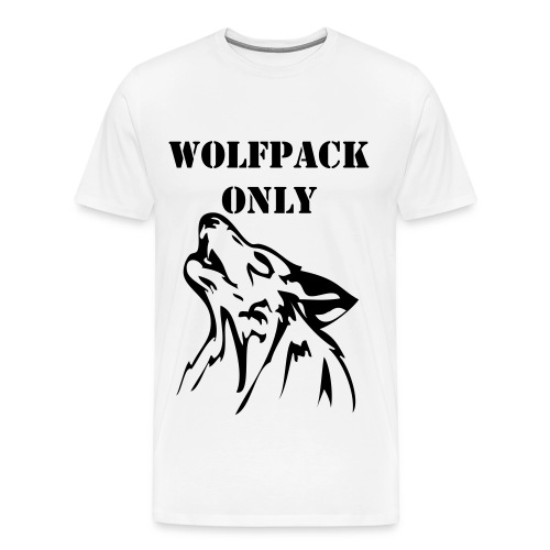 Wolfpack Only - Men's Premium T-Shirt
