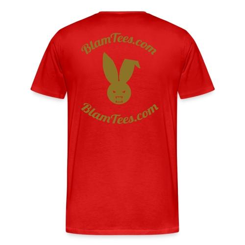 Fuck You Have A Nice Day - Thank You Bag Parody - Men's Shirt - Men's Premium T-Shirt