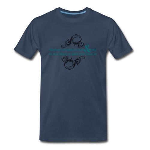 Destroy evil - Men's Premium T-Shirt