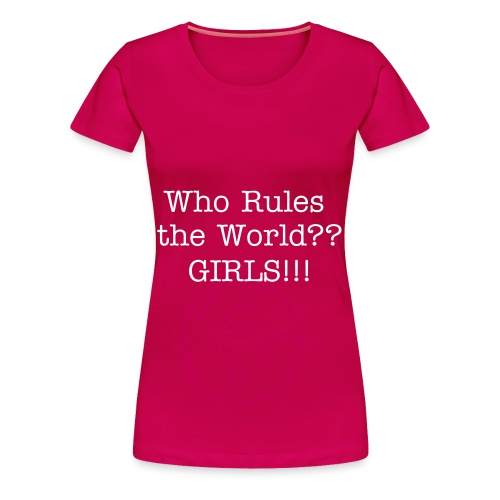 Plus Size Girls rule the World - Women's Premium T-Shirt