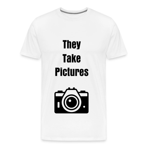 WHT - Take Pictures T - Men's Premium T-Shirt