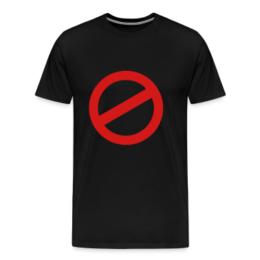 prohibition sign T-Shirts