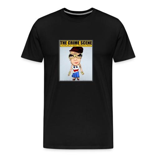 The True Crime Scene Tee - Men's Premium T-Shirt
