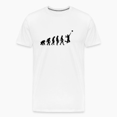 Evolution Volleyball (1c) T-Shirts