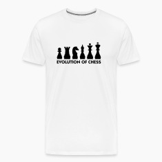 Evolution Chess 2 (1c) T-Shirts
