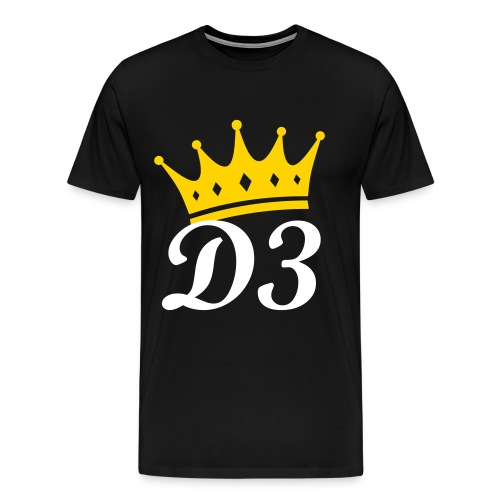 D3 Royalty Tshirt - Men's Premium T-Shirt