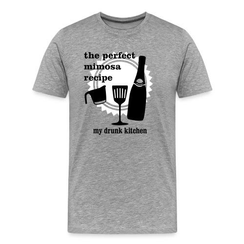 Man-mosas - 3X - Men's Premium T-Shirt
