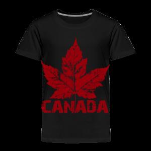 Cool Canada Toddler Shirt Souvenir Kid's Canada T-shirt - Toddler Premium T-Shirt