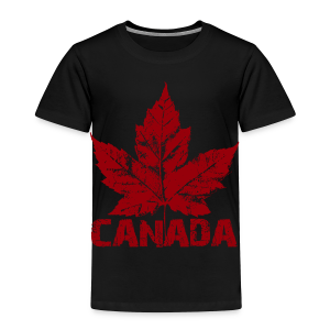 Cool Canada Toddler Shirt Souvenir Kid's Canada T-shirt - Toddler Premium T-Shirt