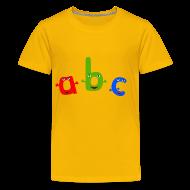 Kids' Shirts ~ Kids' Premium T-Shirt ~ ABC T-Shirt