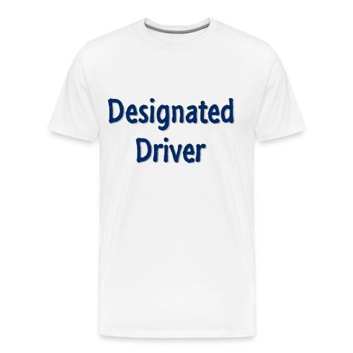 Designated Driver - Men's Premium T-Shirt