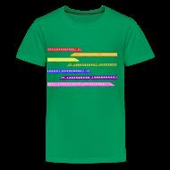 Kids' Shirts ~ Kids' Premium T-Shirt ~ Color Trains