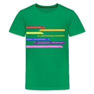 Kids' Shirts ~ Kids' Premium T-Shirt ~ Color Trains
