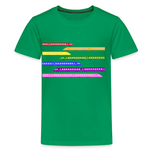 Color Trains - Kids' Premium T-Shirt