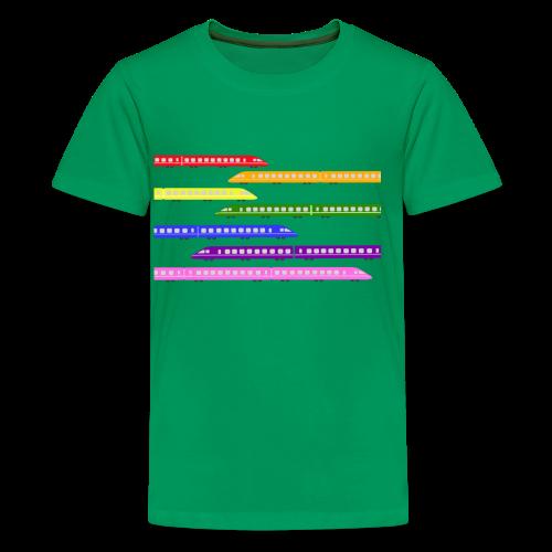 Color Trains - Kids' Premium T-Shirt