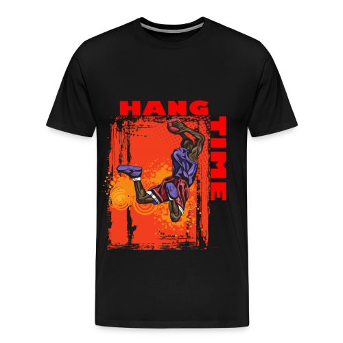 Basketball - Hang Time - Men's Premium T-Shirt