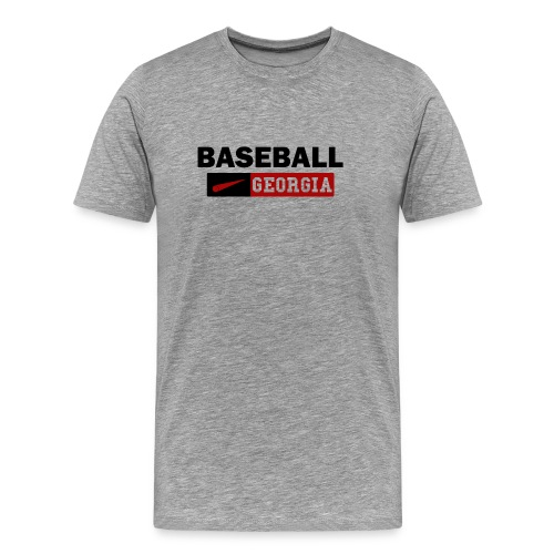Georgia Bulldog Baseball - Men's Premium T-Shirt