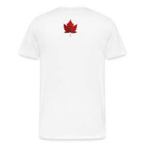 Men's Canada T-shirt I Love Canada 3XL 4XL Shirt Souvenir - Men's Premium T-Shirt