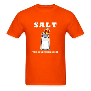 Salt: The Sovereign Spice Men's Heavyweight Tee - Men's T-Shirt