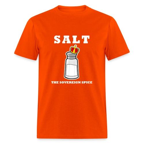 Salt: The Sovereign Spice Men's Heavyweight Tee - Men's T-Shirt
