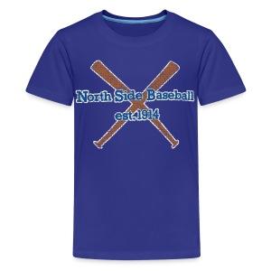 North Side Baseball EST. 1914 - Kids' Premium T-Shirt