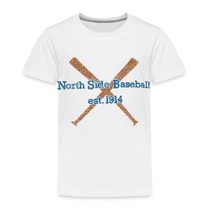 North Side Baseball EST. 1914 - Toddler Premium T-Shirt