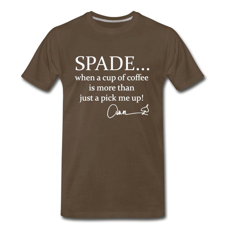 When A Cup Of Coffee...  - Men's Premium T-Shirt
