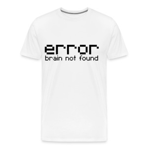 error Brain not found - Men's Premium T-Shirt