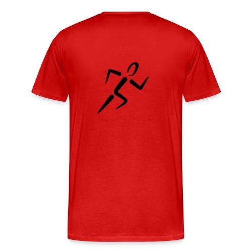 Run For It tee - Men's Premium T-Shirt