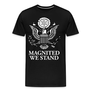 Magnited We Stand - Black 3X Shirt - Men's Premium T-Shirt